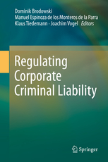 Cover: Regulating Corporate Criminal Liability